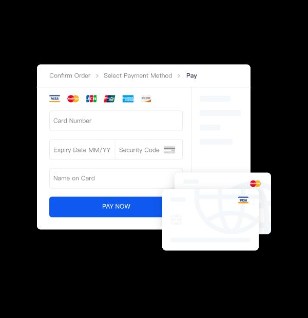 网罗全球近10亿<br>信用卡用户